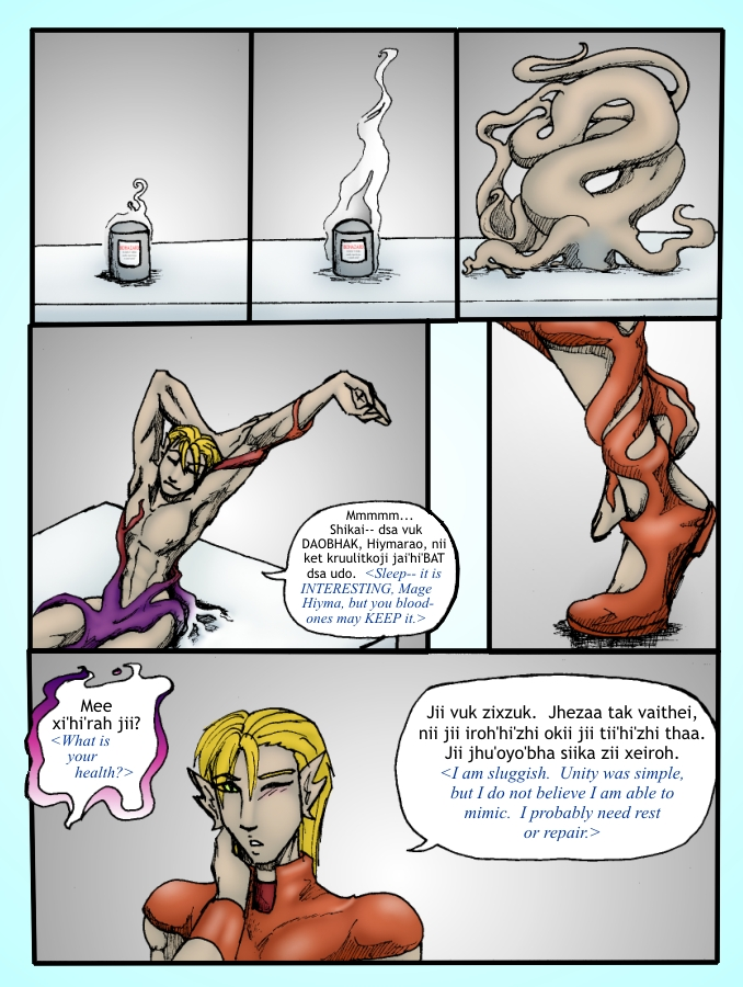 Out of the Darkness Ch 4 Page 19