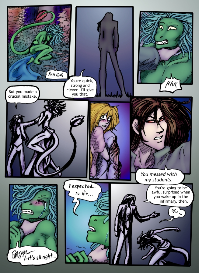 Out of the Darkness Ch 6 Page 16