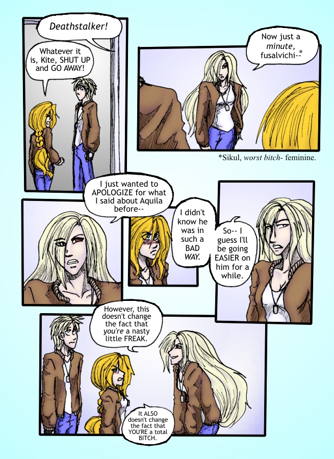 Out of the Darkness Ch 5 Page 6