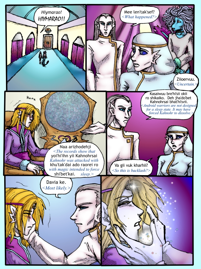 Out of the Darkness Ch 4 Page 2