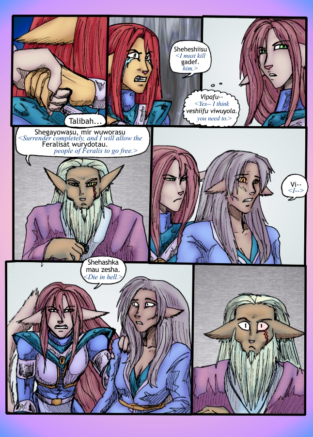 The Siege of Feralis Page 8