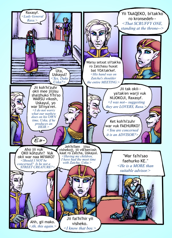 Out of the Darkness Ch 5 Page 11