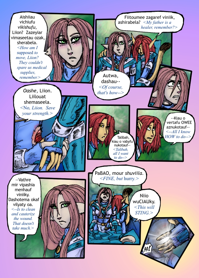 The Siege of Feralis Page 15