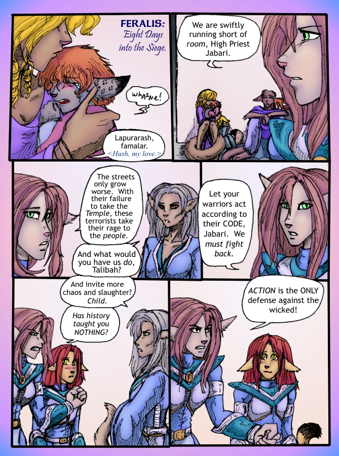 The Siege of Feralis Page 5